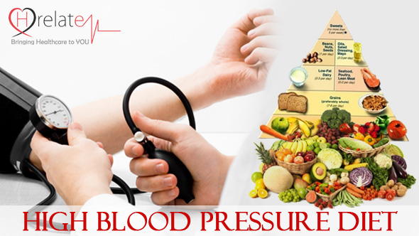 High Blood Pressure Diet - An Effective Chart for Healthy Life