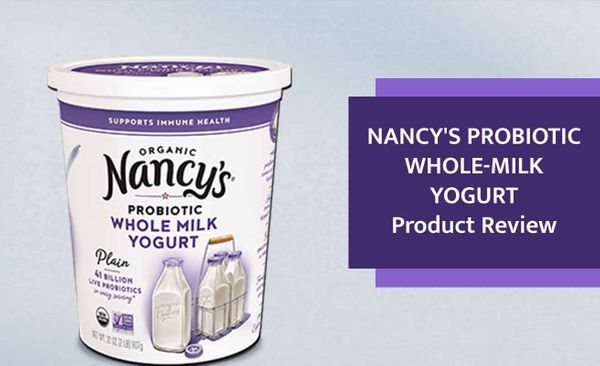 Nancy's Probiotic Whole-Milk Yogurt Product Review: A Nutritious Organic Yogurt